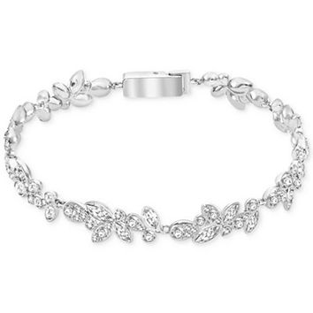 Swarovski Silver-Tone Multi-Crystal Bracelet - Day-of Jewelry - Women - Macy's