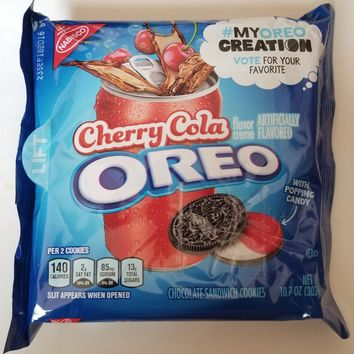NEW 2018 Nabisco Oreo Cherry Cola Cookies #MYOREOCREATION FREE WORLD SHIPPING | eBay