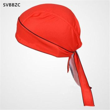 Red Bike Breathable Multi Function Man Women Bicycle Hat Headscarf Cycling Bandana Hood MTB Headband Head Scarf