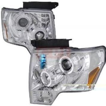 Ford F150 Dual Halo Led Projector Headlights Performance Conversion Kit