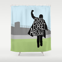 The Breakfast Club Shower Curtain by August Decorous