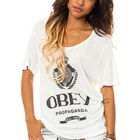 Obey The Nada Tee in Natural White : Karmaloop.com - Global Concrete Culture