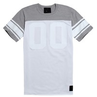 On The Byas David Mesh Football Jersey - Mens Tee - Gray