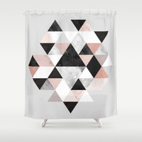 Graphic 202 Shower Curtain by Mareike Böhmer Graphics