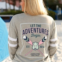 Yacht Club Long Sleeve Tee | Jadelynn Brooke