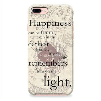happiness quote harry potter iPhone 8 | iPhone 8 Plus Case