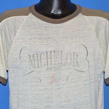 80s Michelob Beer Logo t-shirt Large