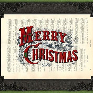 Christmas Decor - Merry Christmas - Christmas Quote