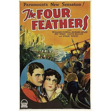 The Four Feathers Poster//The Four Feathers Movie Poster//Movie Poster//Poster Reprint