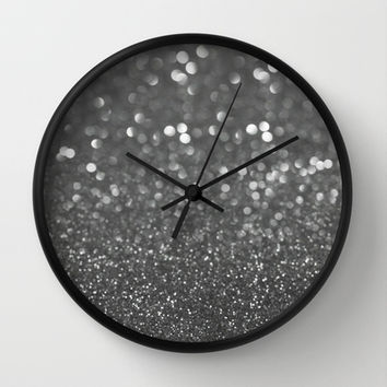 See Through the Fog (Glitter Abstract*) Wall Clock by soaring anchor designs ⚓ | Society6