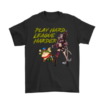 League of Legends Teemo and Jinx T-Shirt