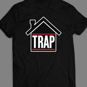 HIP HOP STYLE TRAP HOUSE T-SHIRT