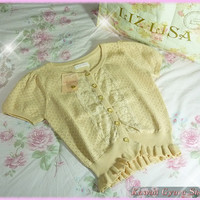 Liz Lisa Short Sleeved Cardigan (NwT) from Kawaii Gyaru Shop