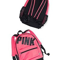 Victoria's Secret PINK! Ultimate Campus Backpack MERMAID TEAL +BONUS VS DECAL
