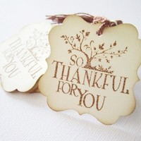 Thankful for You Gift Tags | Adore By Nat