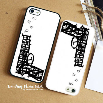 Pistol Bang Typhography  iPhone Case Cover for iPhone 6 6 Plus 5s 5 5c 4s 4 Case