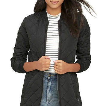 Element Eden Bamby Black Puffer Jacket
