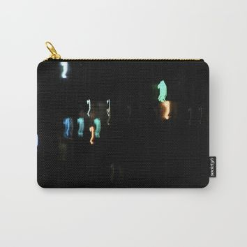 night time rishikesh Carry-All Pouch by letgofyourcolours