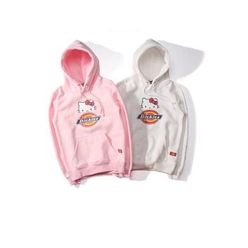 Dickies  Men and women with sweater hat hooded cartoon cute sweater