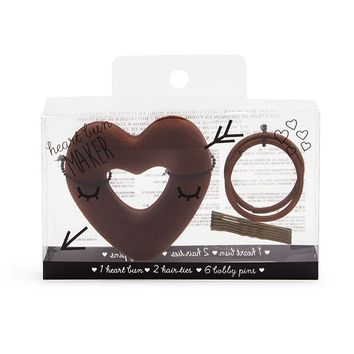 Heart Bun Shaper Set