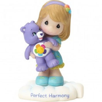Precious Moments Care Bears Harmony Bear Figurine - Girl