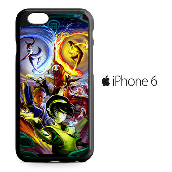 Avatar The Last Airbender Story iPhone 6 Case