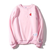 Women's Champion Fashion Long Sleeve T Shirt Pink