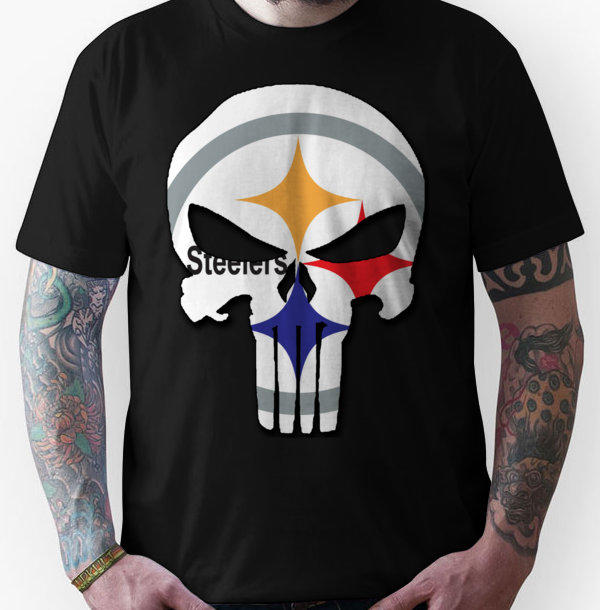 Pittsburgh Steelers Punisher Logo Unisex From Redbubble