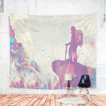 Explorers Wall tapestry