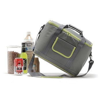 18L Cooler bag High capacity New picnic package 2 colors portable Shoulder ice bag insulation bags thermo ThermaBag refrigerator