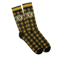 Boston Bruins NHL Stylish Socks (1 Pair) (M-L)