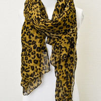 Everyday Leopard Scarf