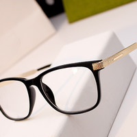 New Fashion Vintage Cat Eye Glasses Frame Men Women Myopia Eyeglasses jacobs Fashion Optical Frame Plain oculos de grau