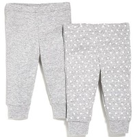 Infant Girl's Skip Hop Cotton Sweatpants (Set of 2)