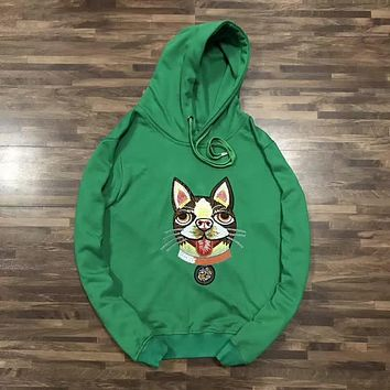 GUCCI Fashion Embroidery Hoodie Top Sweater