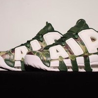 Nike Air More Uptempo Camouflage  Sneaker