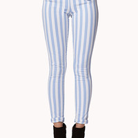 Matelot Vertical Striped Jeans