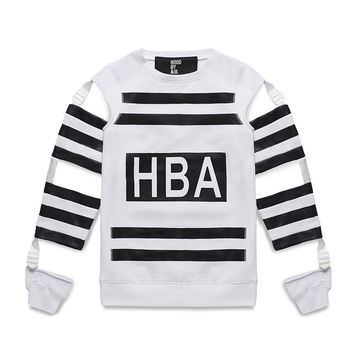 Hood By Air White Frankenstein 2 Sweater - Sneakerboy
