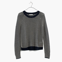 Dockline Pullover Sweater in Simple Stripe