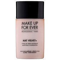 MAKE UP FOR EVER Mat Velvet + Matifying Foundation (1.01 oz No.