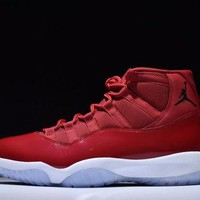 PEAPVX Jacklish 2017 Hottest Christmas Gift Air Jordan 11 Win Like 96 In Gym Red For Sale