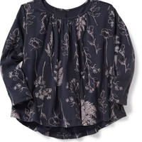 Hi-Lo Swing Shirred Top for Toddler | Old Navy