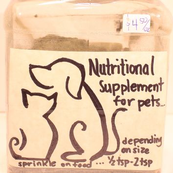 Herbal Nutritional Supplement for your Pets