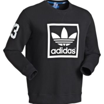 adidas Men's Originals 3foil Crew Long Sleeve Sweatshirt