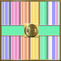 "COMMERCIAL USE OK 6 Digital Pastel Stripe Scrapbook Papers, 12""x12"" 300Dpi Instant Download"