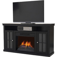 "Walmart: Decor Flame Electric Fireplace for TVs up to 42"", Black"