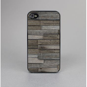 The Overlapping Aged Planks Skin-Sert Case for the Apple iPhone 4-4s