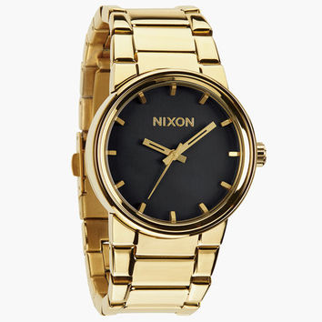 Nixon The Cannon Watch All Gold/Black One Size For Men 24406477401