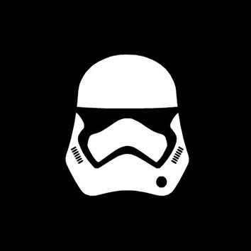 Star Wars The Force Awakens 7 Storm trooper vinyl car, laptop, truck, bottle vinyl decal silhouette