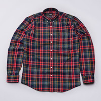 Flatspot - Indcsn Costanza Flannel Shirt Red / Green / Navy